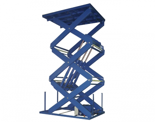 Tri-scissors Electric Hydraulic Lifting Platform