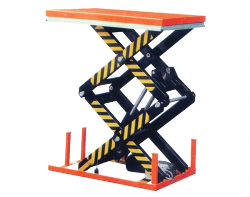 Electric Hydraulic Lifting Platform with Double-scissors