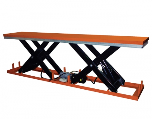 Electro-hydraulic Lifting Platform with Parallel Single-scissors