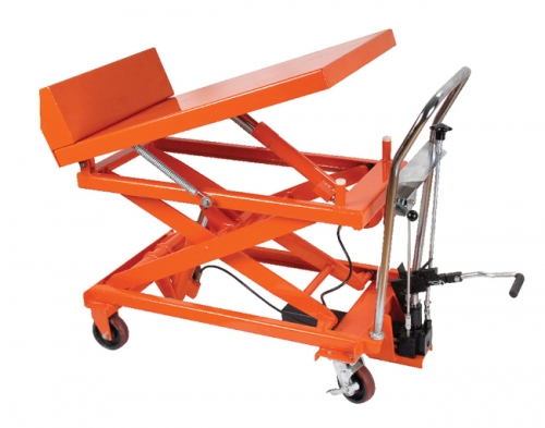 Tilting Up-Turn Separate Hydraulic Platform Vehicle