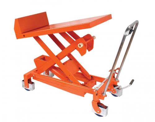 Tilting Hydraulic Platform Vehicle