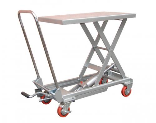 Aluminum alloy manual platform car